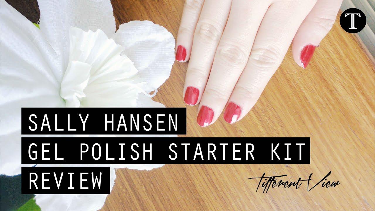 Sally Hansen Gel Polish Starter Kit Review | Tifferent View