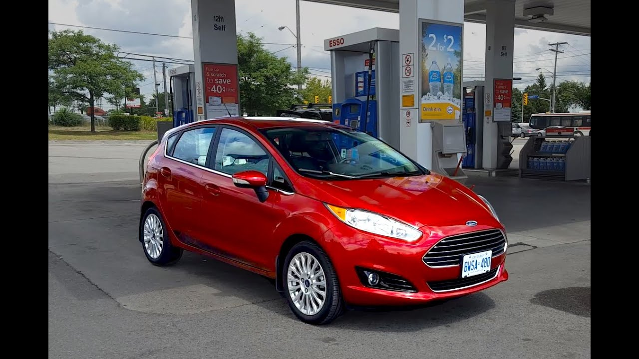 2018 ford fiesta review fuel economy test fill up costs youtube. Black Bedroom Furniture Sets. Home Design Ideas