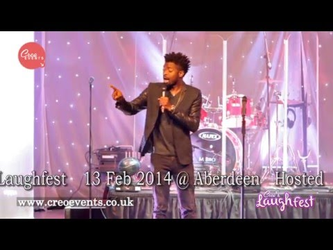 Video (stand-up): Basketmouth Talks Difference Between Rich and Poor Threats at UK Show
