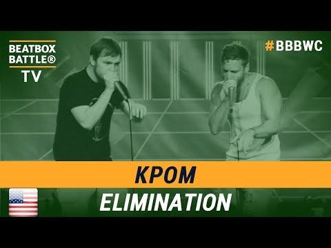 kPom from USA - Tag Team - 5th Beatbox Battle World Championship