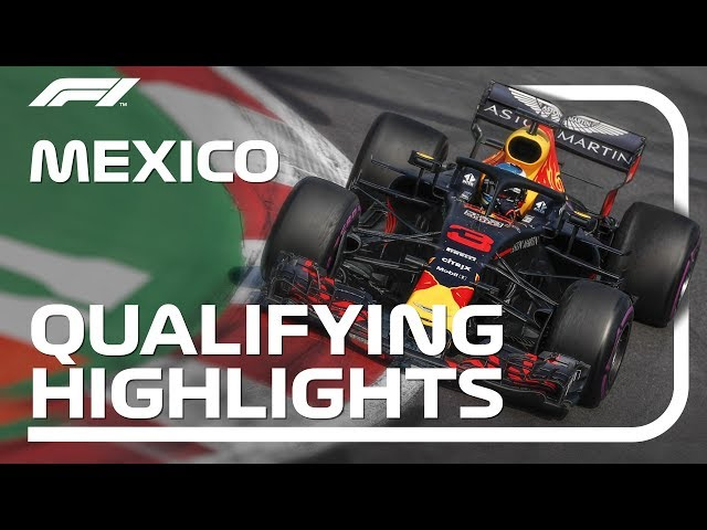 2018 Mexican Grand Prix: Qualifying Highlights