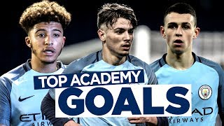MAN CITY AMAZING ACADEMY GOALS 2016/17!