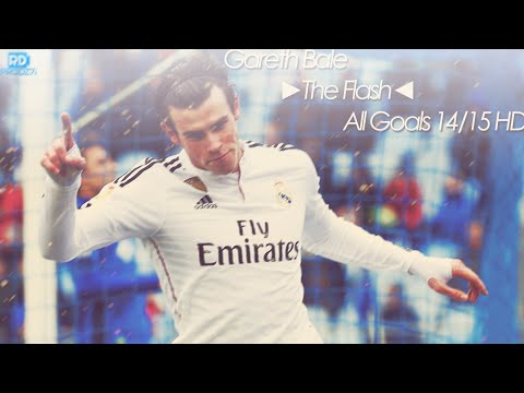 Gareth Bale ►The Flash◄ All Goals 14/15 HD