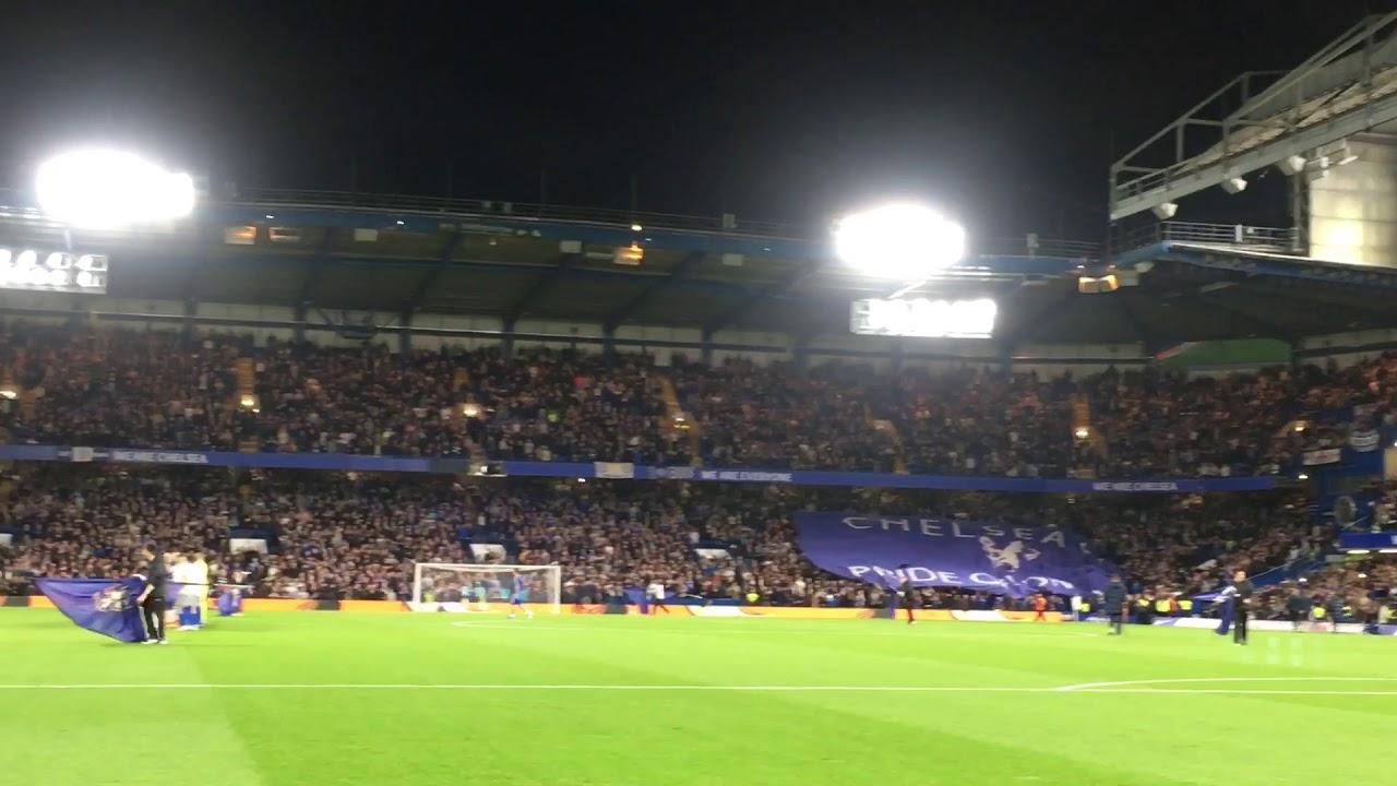 We hate Tottenham  Chelsea fans  Chelsea vs Everton 25/10/2017