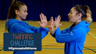 Twinning Challenge - #GymnastsAtHome