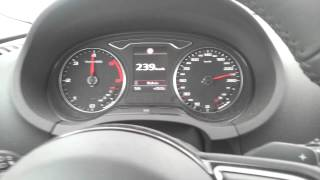 audi a3 2 0 tdi quattro 184 bg top speed 256 km h