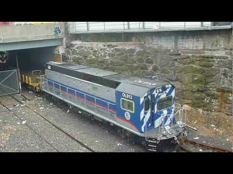 MTA Subway - 2012-13 MotivePower R-156 Diesel-Electric Locomotive #OL913