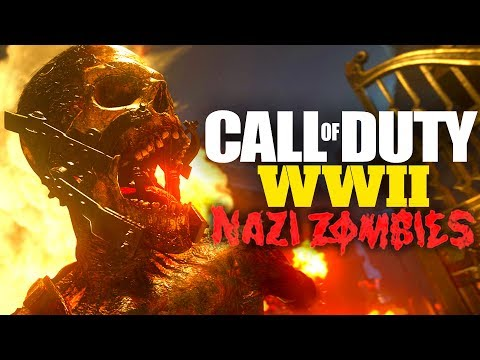 Official COD WWII Zombies Details! EVERYTHING YOU NEED TO KNOW (Perks, Mystery Box, Story and more!)