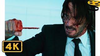 Джон Уик против Убийц | Джон Уик 2 | 4K ULTRA HD