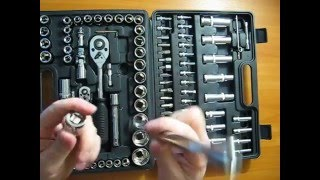 Обзор набора инструментов MIOL EXPERT 58-108 (108 предметов)