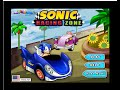 Sonic Games To Play Online - Sonic Racing Zone Game