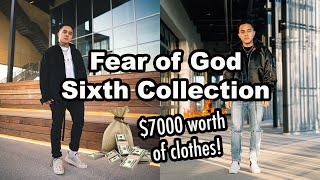 Fear of God Siאth Collection Clothing Haul + Try on