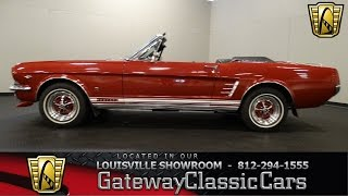 1966 Ford Mustang Convertible GT - Louisville Showroom - Stock # 1480