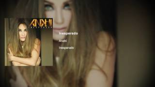 Baixar Anahí - Inesperado (Audio)