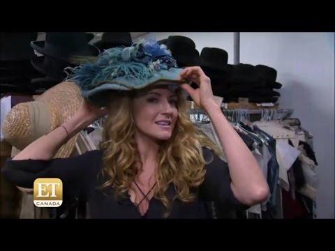 Hélène Joy   'Murdoch Mysteries' Set Tour