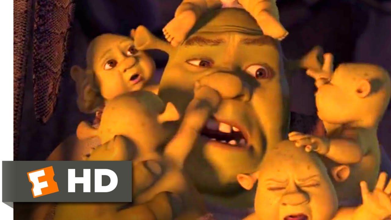 Download Shrek the Third (2007) - Baby Nightmare Scene (2/10) | Movieclips