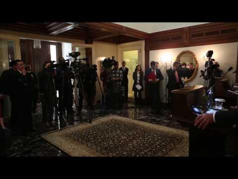 Bushati pritet nga homologu turk - Top Channel Albania - News - Lajme