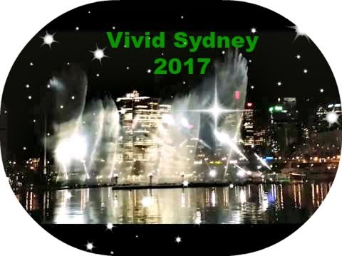Vivid Sydney 2017 Darling Harbour Water Light Show 灯光秀??音乐秀??