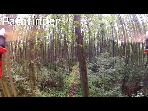 Aerial movie #32: Троекуровский лес, полеты между деревьями