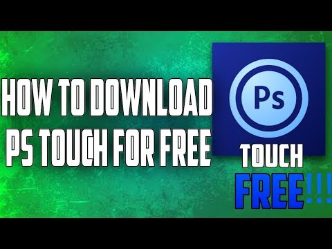 How To Download Photoshop Touch On Android For Free!