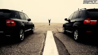 BMW X5 4.8 VS Porsсhe Cayenne S - Drag Race.