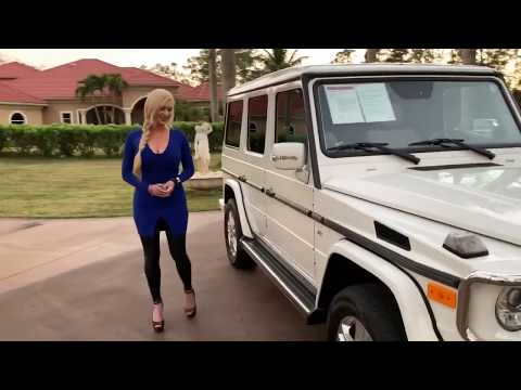 WHAT!? A White G550 GWAGON FOR SALE?! 2012 Mercedes-Benz G550 for sale by AutoHaus of Naples