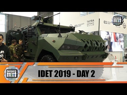 IDET 2019 International Fair of Defence and Security Technology Exhibition Brno Czech Republic Day 2