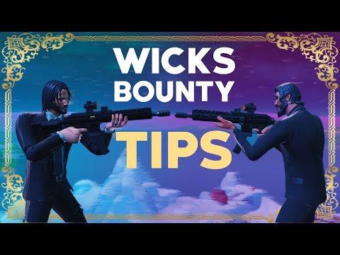 Wicks Bounty Tips! - Fortnite