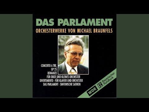 Das Parlament Symphonische Satiren für grosses Orchester, Op 31a: IV Var II Die Optimisten