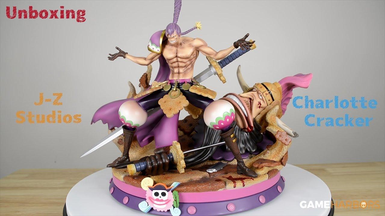 One Piece J Z Studios Charlotte Cracker Unboxing