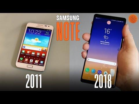 От Note 1 до Note 9: эволюция флагманской линейки Samsung | COMFY