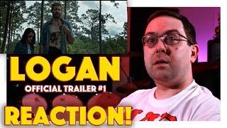REACTION! Logan Official Trailer #1 - Hugh Jackman Movie 2017