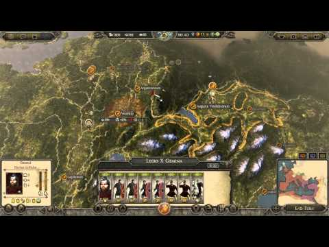 Total War Attila COOP - Rome Shall Survive! #1