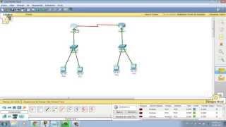 Como realizar una red con 2 router 2 switch y 4 terminales en cisco packet tracer