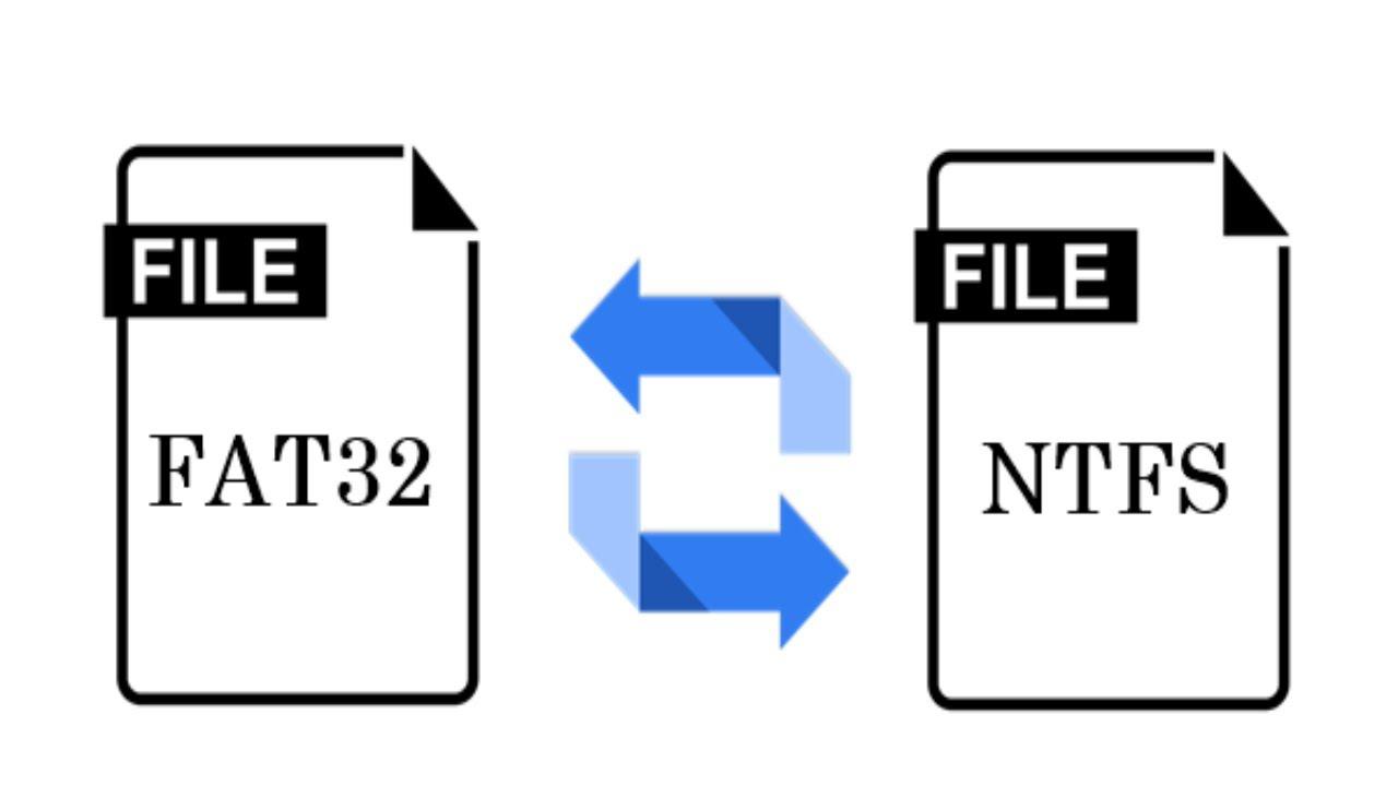 Cách chuyển định dạng ổ cứng FAT32 sang NTFS trên Windows không mất dữ liệu