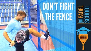 How to play after the fence...? Padel tips! screenshot 4