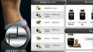 PureLine Weight Loss Program/System Menu Nutrition and Weight Loss
