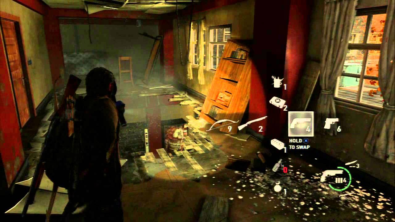 The Last Of Us Chap 8 Uec Campus Map Student S Journal Spores Bloater Clicker Swarm Ps3