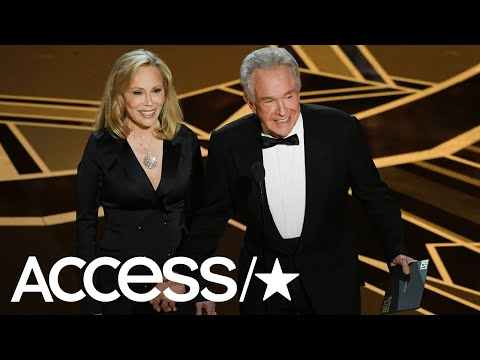 Oscars 2018: Faye Dunaway & Warren Beatty Return To Present Best Picture After Iconic Flub | Access