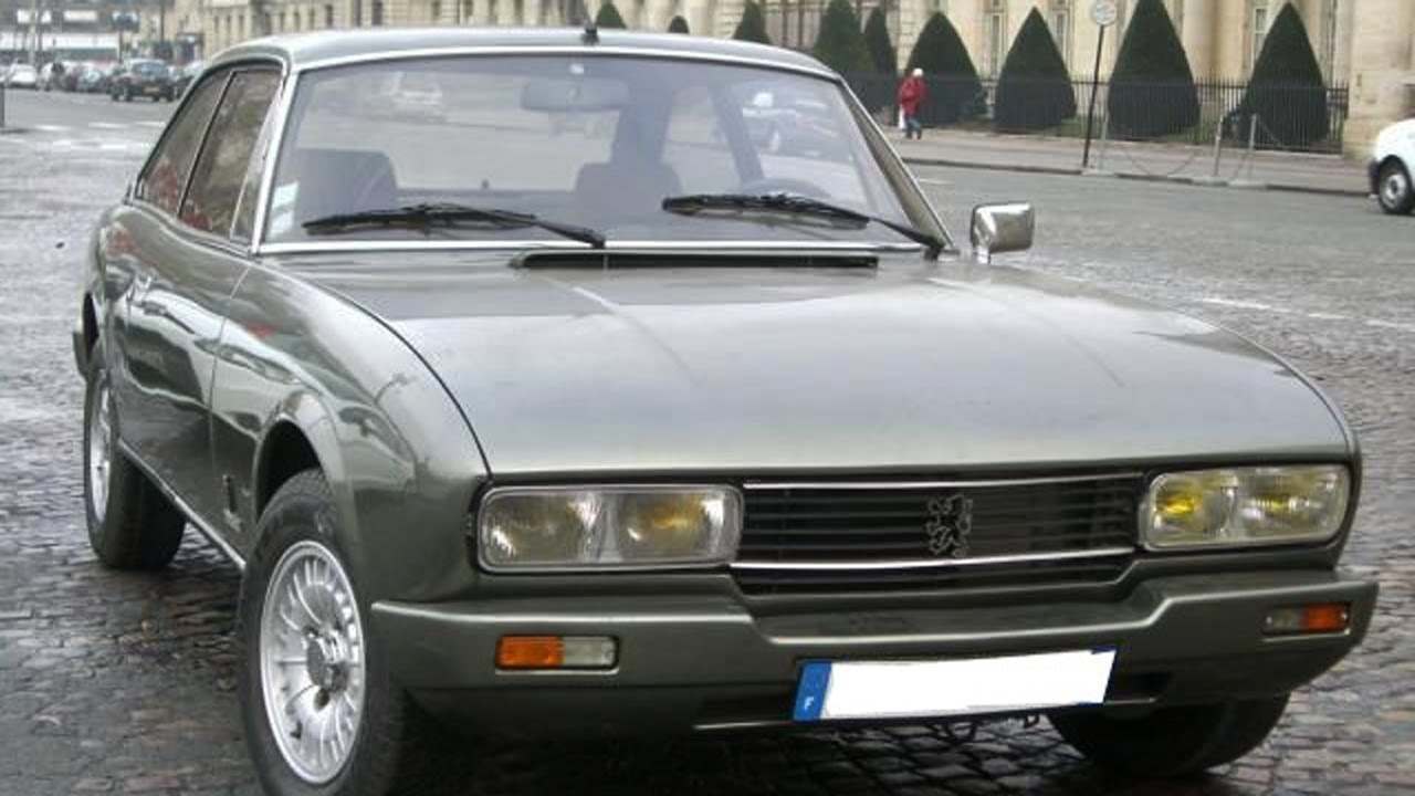 First Pictures Of My Peugeot 504 Coupe Ti Automatique Of 1982 Youtube