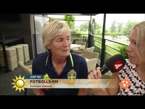 Så är Sveriges chanser i fotbolls-EM - Nyhetsmorgon (TV4)