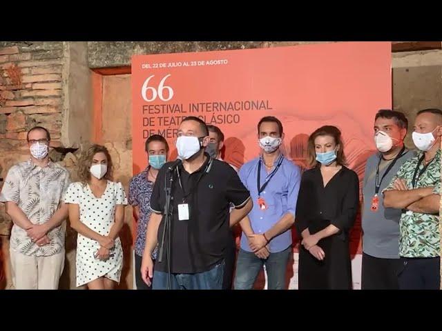 Pepón Nieto confiesa el miedo ante el estreno en el Festival de Mérida