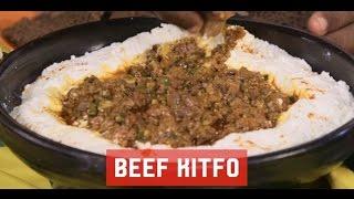 "Ethiopia Food :  ""Kitfo"" ""ክትፎ"" - Marcus Samuelsson's Style"