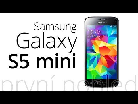 Samsung Galaxy S5 mini (první pohled)
