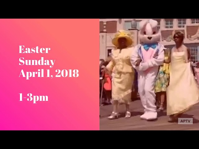 AP Easter Pageant & Parade 2018 Promo - April 1, 2018