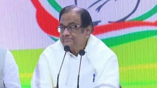 Day After Release, P Chidambaram Meets The Press