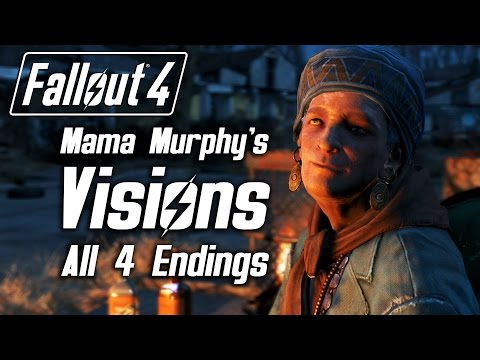 Fallout 4 - Mama Murphy's Visions on All 4 Faction Endings