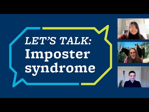 Let's Talk: Imposter syndrome