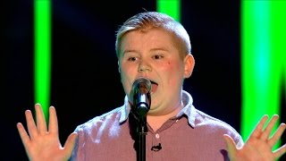 Stephen McLaughlin performs 'Piece Of My Heart' - The Voice UK 2015: Blind Auditions 1 – BBC One