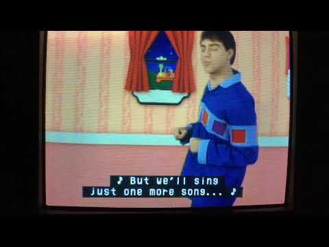 Blue's Clues Now It's Time For So Long (Bedtime Business Version)